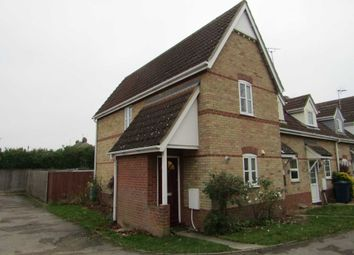 Thumbnail 2 bed end terrace house for sale in Reed Close, Chatteris