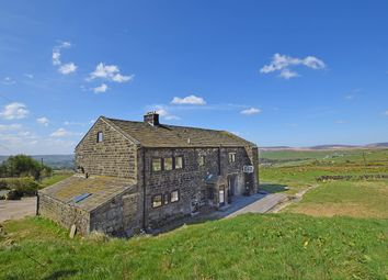 Thumbnail 6 bed detached house for sale in Slack House Lane, Wadsworth, Hebden Bridge