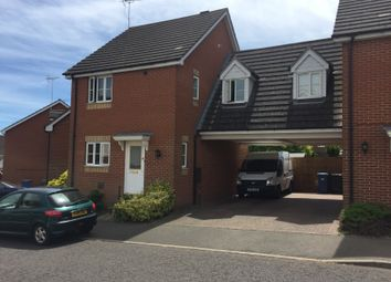 Thumbnail 3 bedroom link-detached house to rent in Springtail Road, Ipswich