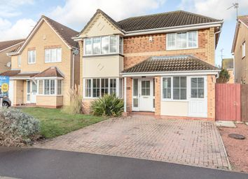 Thumbnail 4 bed detached house for sale in Belton Road, Peterborough, Peterborough