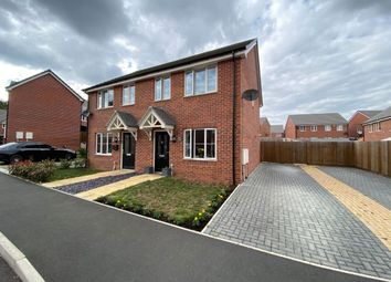 Thumbnail 2 bed semi-detached house for sale in Dandelion Close, Ecton Brook, Northampton