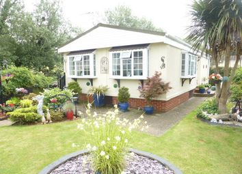 Thumbnail 2 bed mobile/park home for sale in The Crescent Penton Park, Chertsey