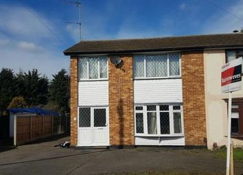 Thumbnail 3 bed semi-detached house for sale in Long Meadow Drive, Wickford