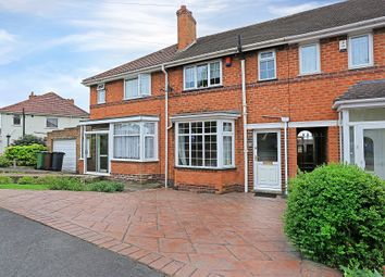 Thumbnail 3 bed town house for sale in Glencroft Road, Solihull