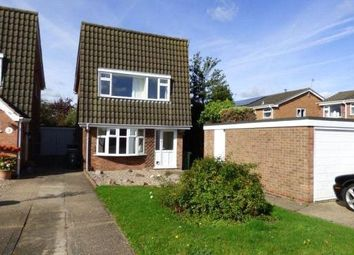 Thumbnail 3 bed detached house for sale in Chestnut Close, Queniborough, Leicester