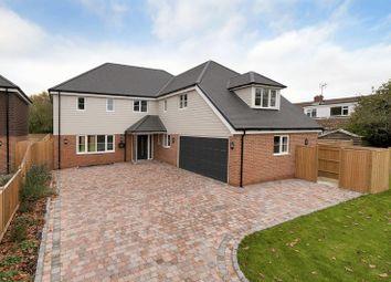 Thumbnail 4 bed detached house for sale in Five Oak Green Road, Five Oak Green, Tonbridge