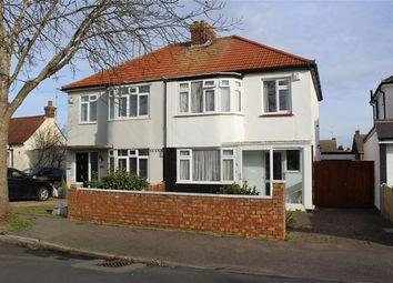 3 bed semi-detached house for sale in Herbert Road, Rainham, Gillingham, Kent ME8