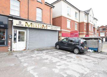 Thumbnail Retail premises to let in 23 Bury New Road, Prestwich, Manchester, Lancashire