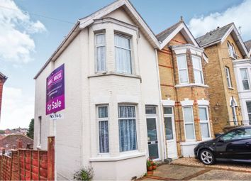 Thumbnail 3 bed semi-detached house for sale in Park Road, Cowes