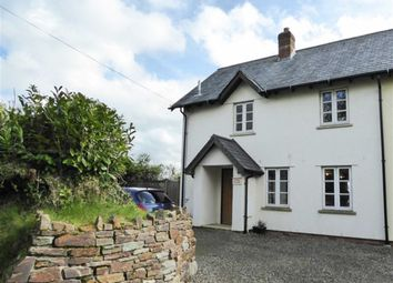 Thumbnail 2 bed semi-detached house for sale in Germansweek, Beaworthy
