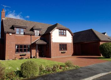 Thumbnail 5 bed detached house for sale in Alynfields, Hope, Wrexham