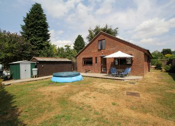Thumbnail 3 bed detached bungalow for sale in Bernard Avenue, Four Marks, Hampshire