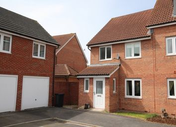 Thumbnail 3 bed end terrace house for sale in Cavalier Close, Bridgwater
