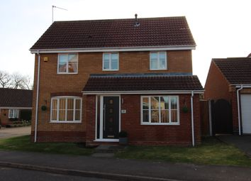 Thumbnail 3 bedroom detached house for sale in Stimpson Close, Lowestoft, Suffolk