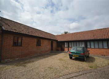 Thumbnail 3 bed barn conversion for sale in Hall Road, Thurton, Norwich, Norfolk