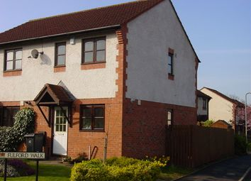 Thumbnail 2 bed semi-detached house to rent in 2 Fulford Walk, Etterby Park, Carlisle
