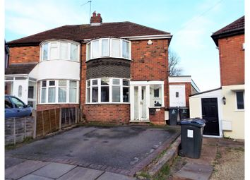 Thumbnail 3 bed semi-detached house for sale in Collingdon Avenue, Birmingham