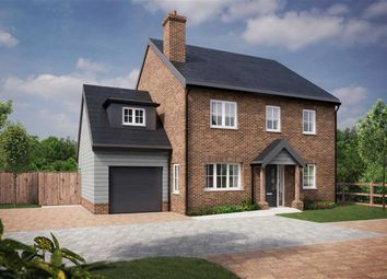 Thumbnail 4 bed detached house for sale in Burnham Green, Welwyn, Hertfordshire