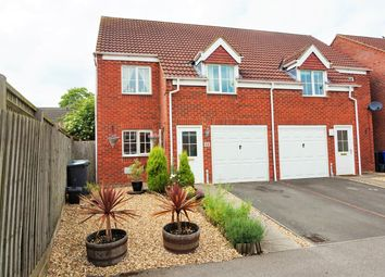 Thumbnail 3 bed semi-detached house for sale in Chapmans Drive, Old Stratford