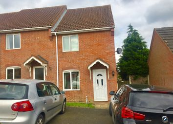 Thumbnail 2 bed end terrace house for sale in Halford Close, South Witham, Grantham
