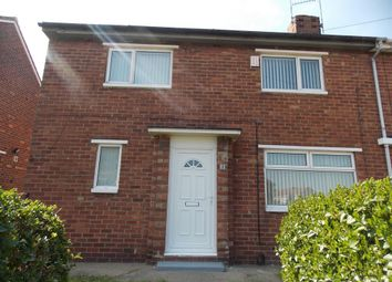 Thumbnail 3 bed semi-detached house to rent in Roxby Avenue, Middlesbrough