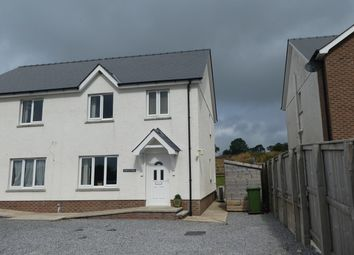 Thumbnail 3 bed semi-detached house for sale in Ffostrasol, Llandysul