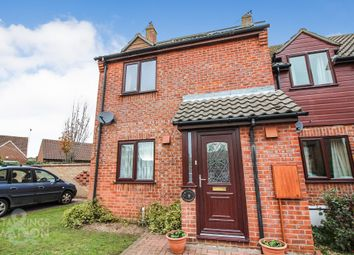 Thumbnail 2 bed end terrace house for sale in Millfield Close, Ditchingham, Bungay
