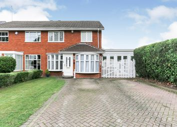 Thumbnail 4 bed semi-detached house for sale in Binley Close, Shirley, Solihull