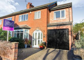 Thumbnail 4 bed semi-detached house for sale in Exeter Road, West Bridgford