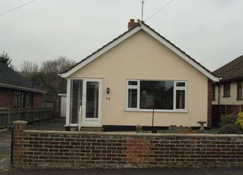 Thumbnail 2 bed detached bungalow for sale in Elmhurst Avenue, Lowestoft