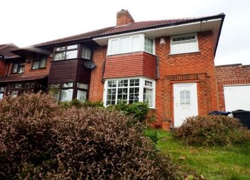 Thumbnail 3 bed semi-detached house to rent in Haunch Lane, Kings Heath, Birmingham