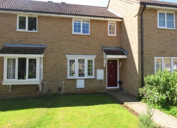 Thumbnail 3 bedroom terraced house for sale in Alder Close, Eaton Ford, St. Neots