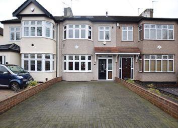 Thumbnail 4 bed terraced house for sale in Belgrave Avenue, Gidea Park, Essex