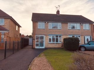 Thumbnail 3 bedroom semi-detached house for sale in Dominion Road, Leicester