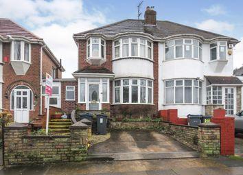 Thumbnail 3 bed semi-detached house for sale in Worlds End Lane, Quinton, Birmingham