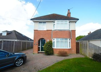 Thumbnail 4 bed detached house for sale in Avenue Road, Walkford, Christchurch