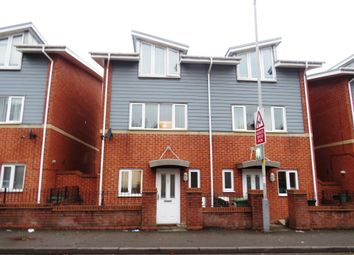 Thumbnail 3 bed town house for sale in Tudor Road, Off Wednesfield Road, Wolverhampton