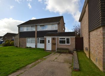 Thumbnail 4 bed semi-detached house for sale in Lowick Court, Moulton Leys, Northampton