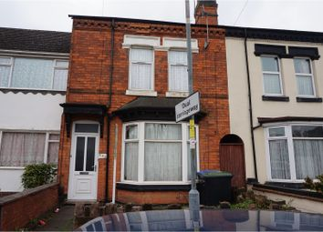 Thumbnail 4 bed end terrace house for sale in Douglas Road, Birmingham