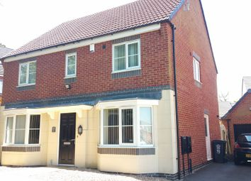 Thumbnail 4 bed detached house for sale in Moulton Road, Hamilton, Leicester