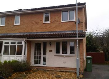 Thumbnail 3 bed semi-detached house to rent in Bowmont Grove, Taunton
