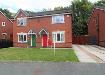 Thumbnail 3 bed semi-detached house for sale in Moss Valley Road, New Broughton, Wrexham