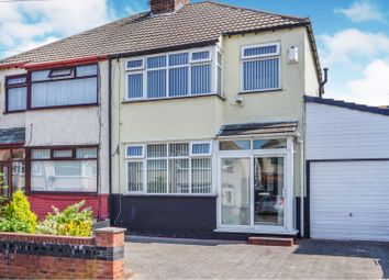 Thumbnail 3 bed semi-detached house for sale in Swanside Road, Liverpool
