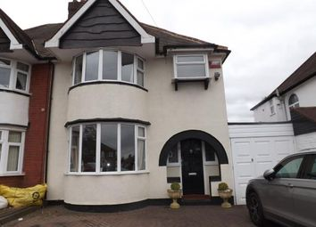 Thumbnail 3 bed semi-detached house for sale in Chester Road, Castle Bromwich, Birmingham, West Midlands