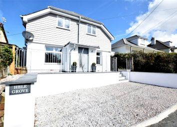 Thumbnail 4 bed detached house for sale in Marhamchurch, Bude