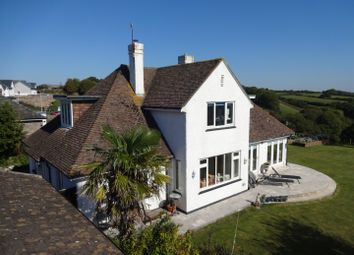 Thumbnail 4 bed detached house for sale in Parsonage Road, Newton Ferrers, South Devon