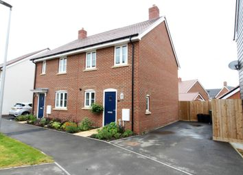 Thumbnail 2 bed semi-detached house for sale in Maldives Terrace, Newton Leys, Bletchley, Milton Keynes