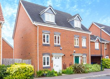 Thumbnail 3 bedroom town house for sale in Atlantic Way, City Point, Derby
