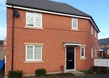 Thumbnail 3 bed semi-detached house for sale in Pickering Close, Cramlington