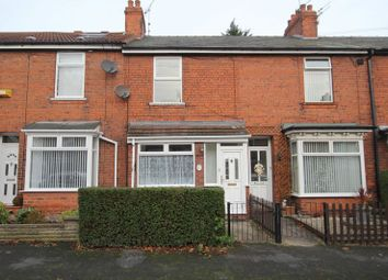 Thumbnail 2 bedroom terraced house to rent in Park Avenue, Hessle